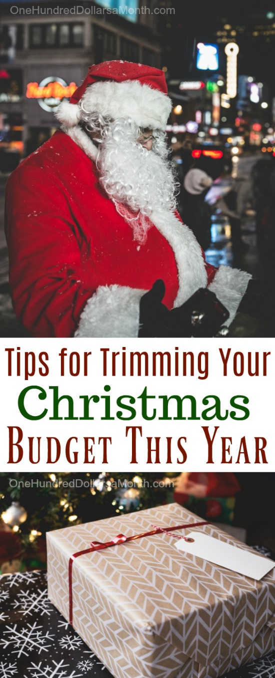 Tips for Trimming Your Christmas Budget This Year