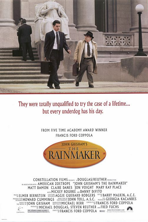 Friday Night at the Movies – The Rainmaker