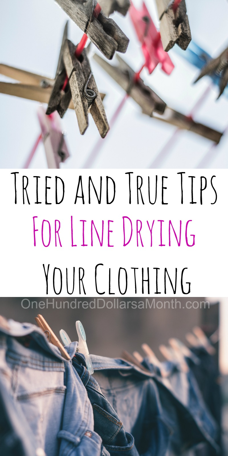 6 Tips for Line Drying Your Clothes