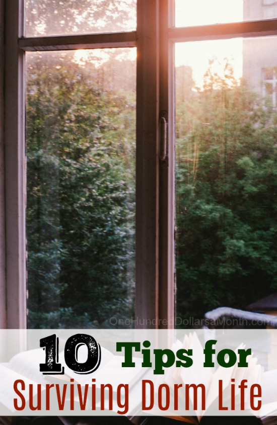 10 Tips for Surviving Dorm Life