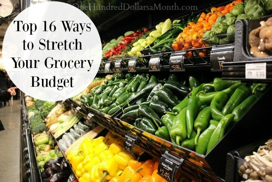 Top 16 Ways to Stretch Your Grocery Budget