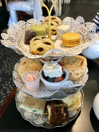 Tea Service at The Grey House Café in Port Orchard, Washington