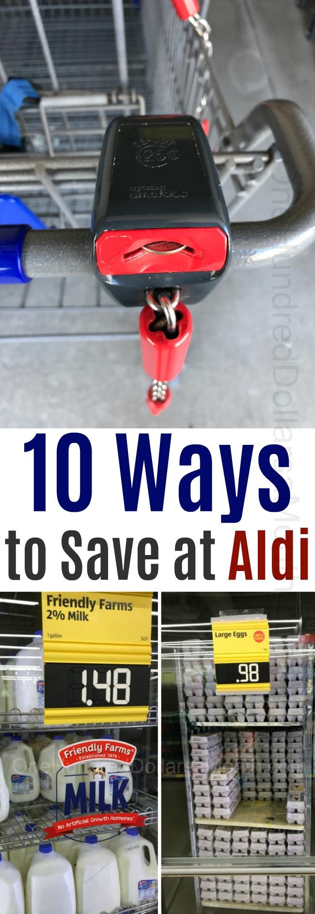 10 Ways to Save at Aldi