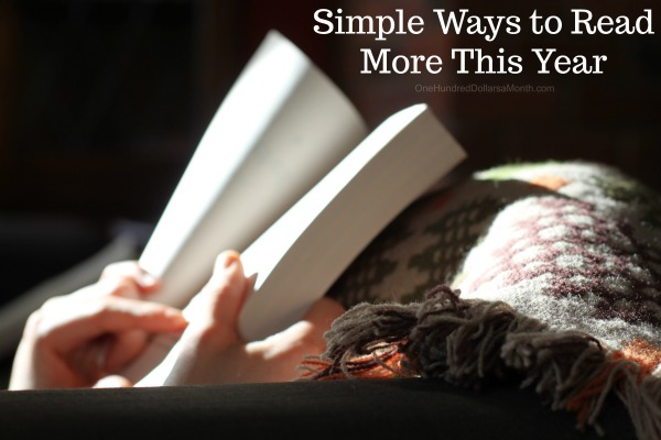 Simple Ways to Read More This Year