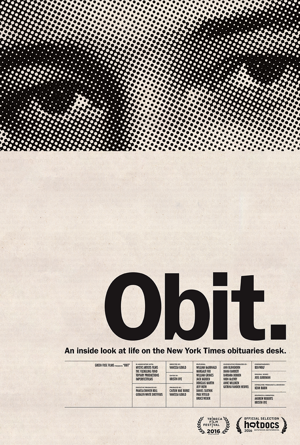 Friday Night at the Movies – Obit