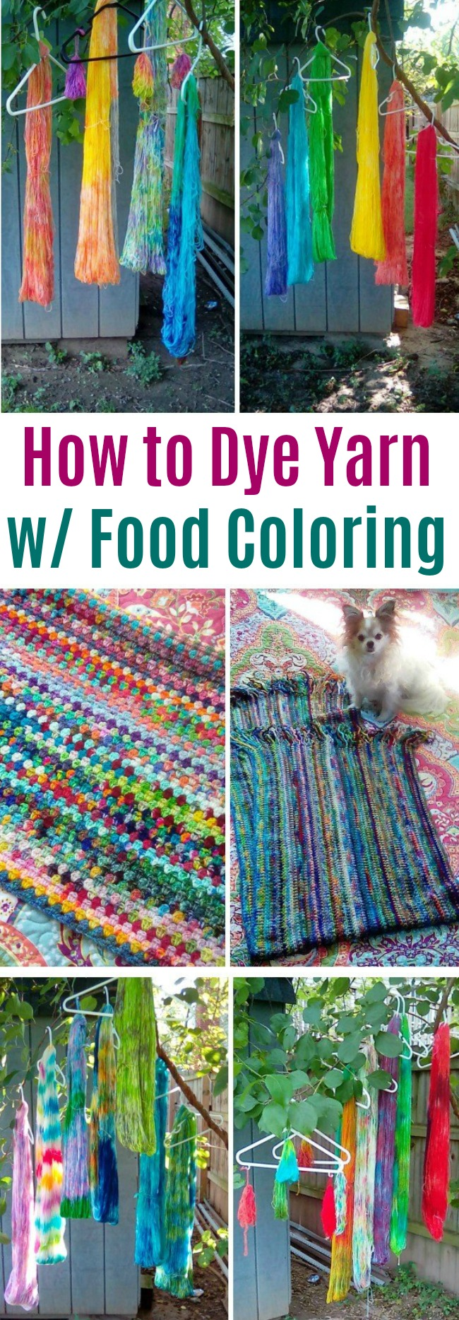 Show Me Your Hobby – Vicki Shares How She Dyes Yarn with Food Coloring