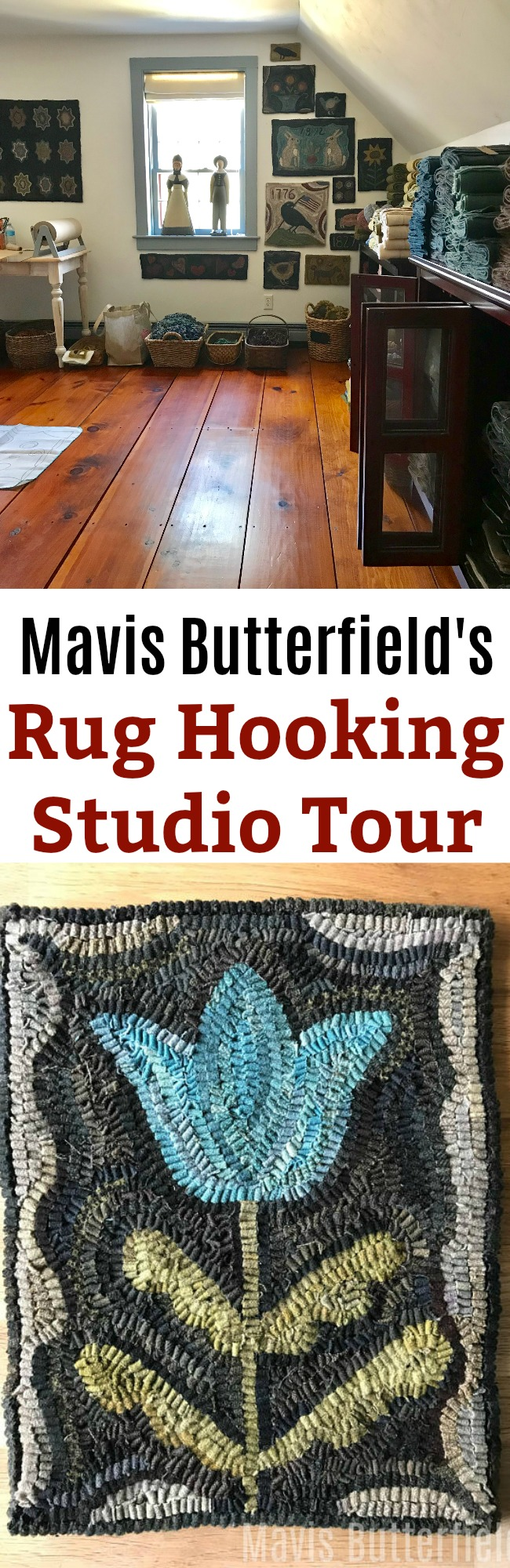 Setting Up My New Rug Hooking and Wool Studio Space