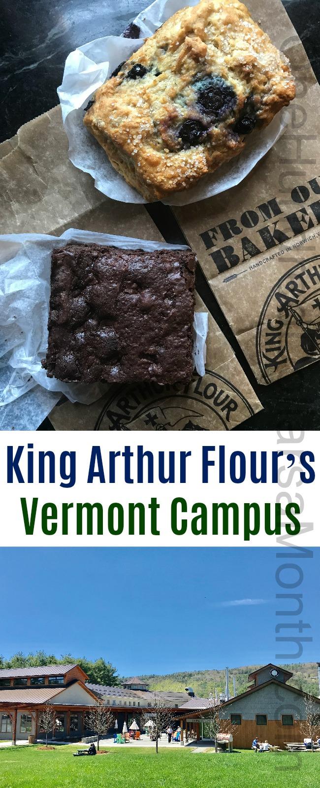 King Arthur Flour's Vermont Campus in Norwich, Vermont