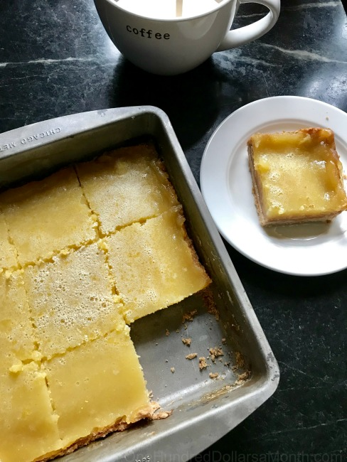12 Days Of Christmas Cookies: Lemon Bars