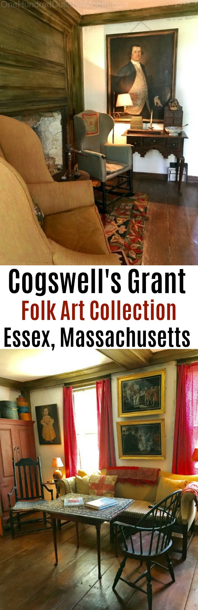 Cogswell's Grant Estate and American Folk Art Collection in Essex, Massachusetts