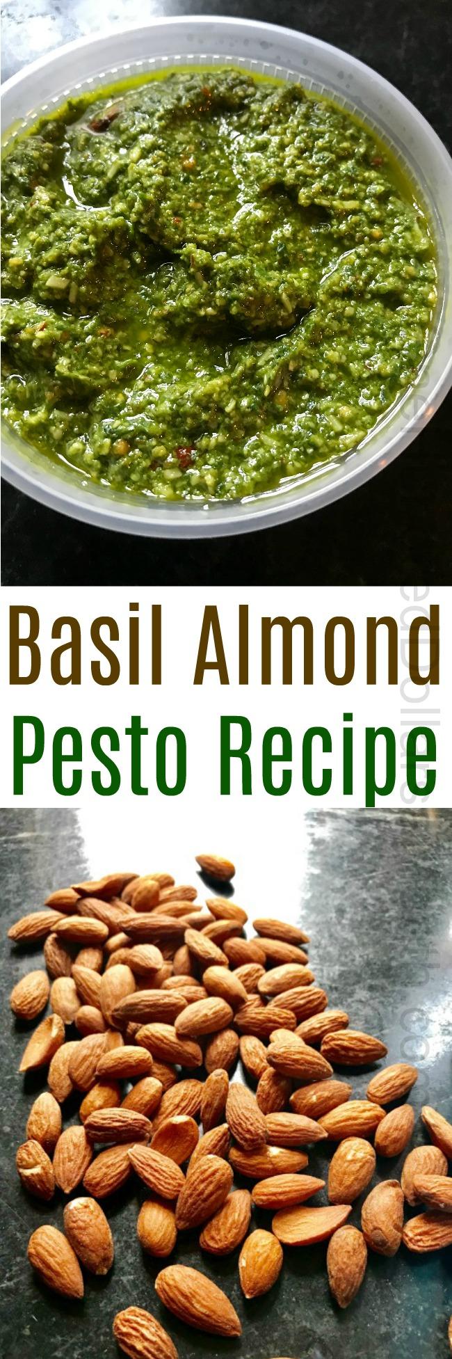 Basil Almond Pesto Recipe
