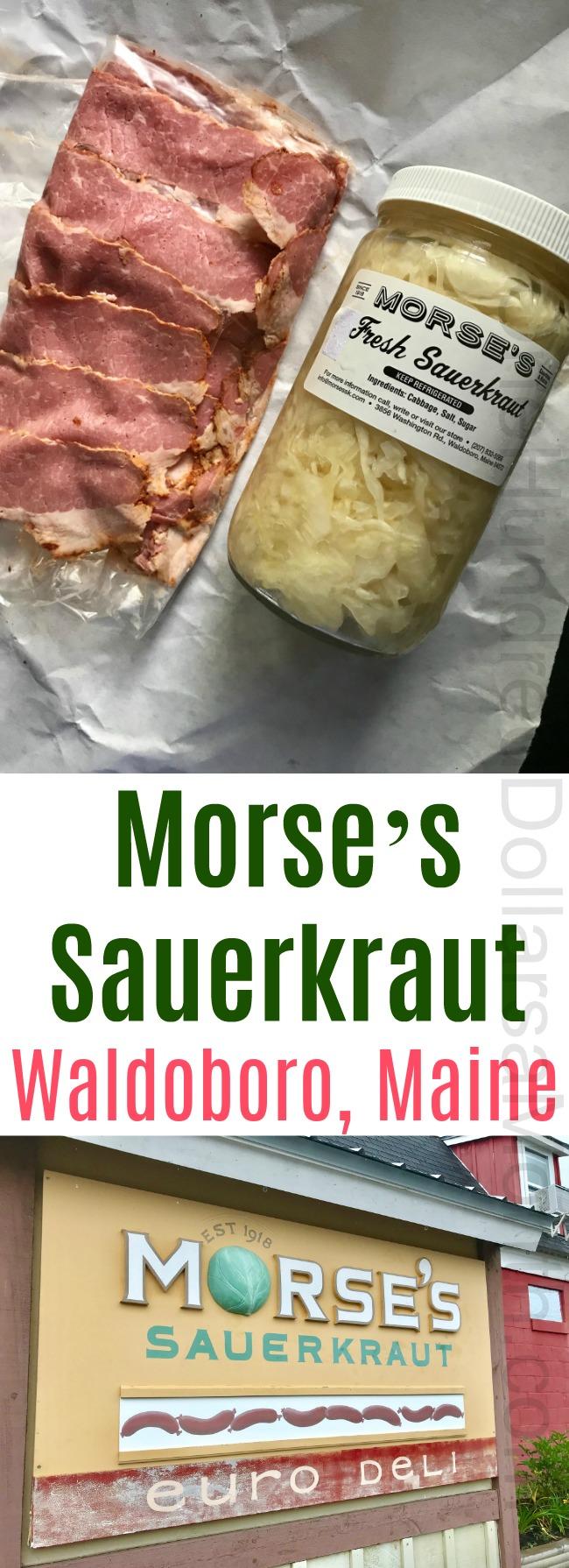 Morse's Sauerkraut in Waldoboro, Maine