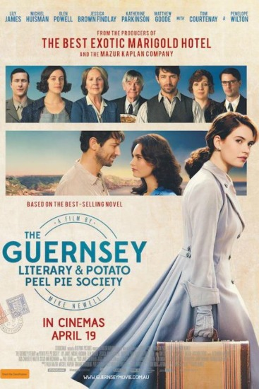 Friday Night at the Movies – The Guernsey Literary and Potato Peel Pie Society