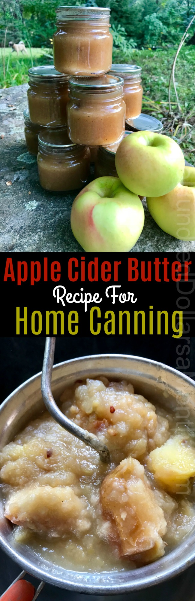 Apple Cider Butter Recipe for Home Canning