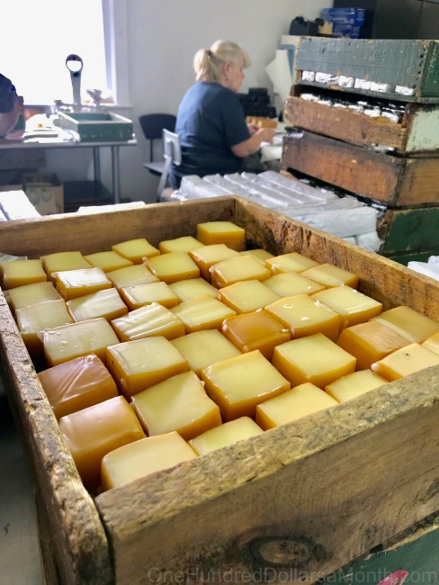 Sugarbush Cheese and Maple Farm in Woodstock, Vermont ~ Plus a Cheesy Giveaway ~