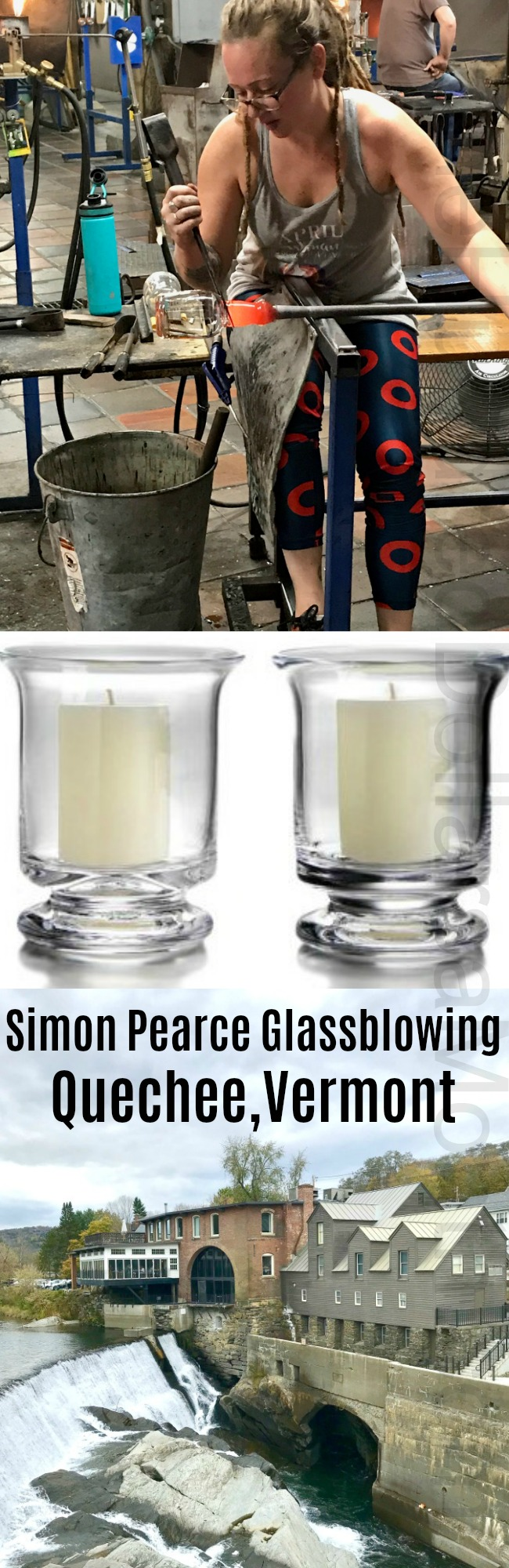 Simon Pearce Flagship Store, Restaurant + Glassblowing Workshop in Quechee, Vermont
