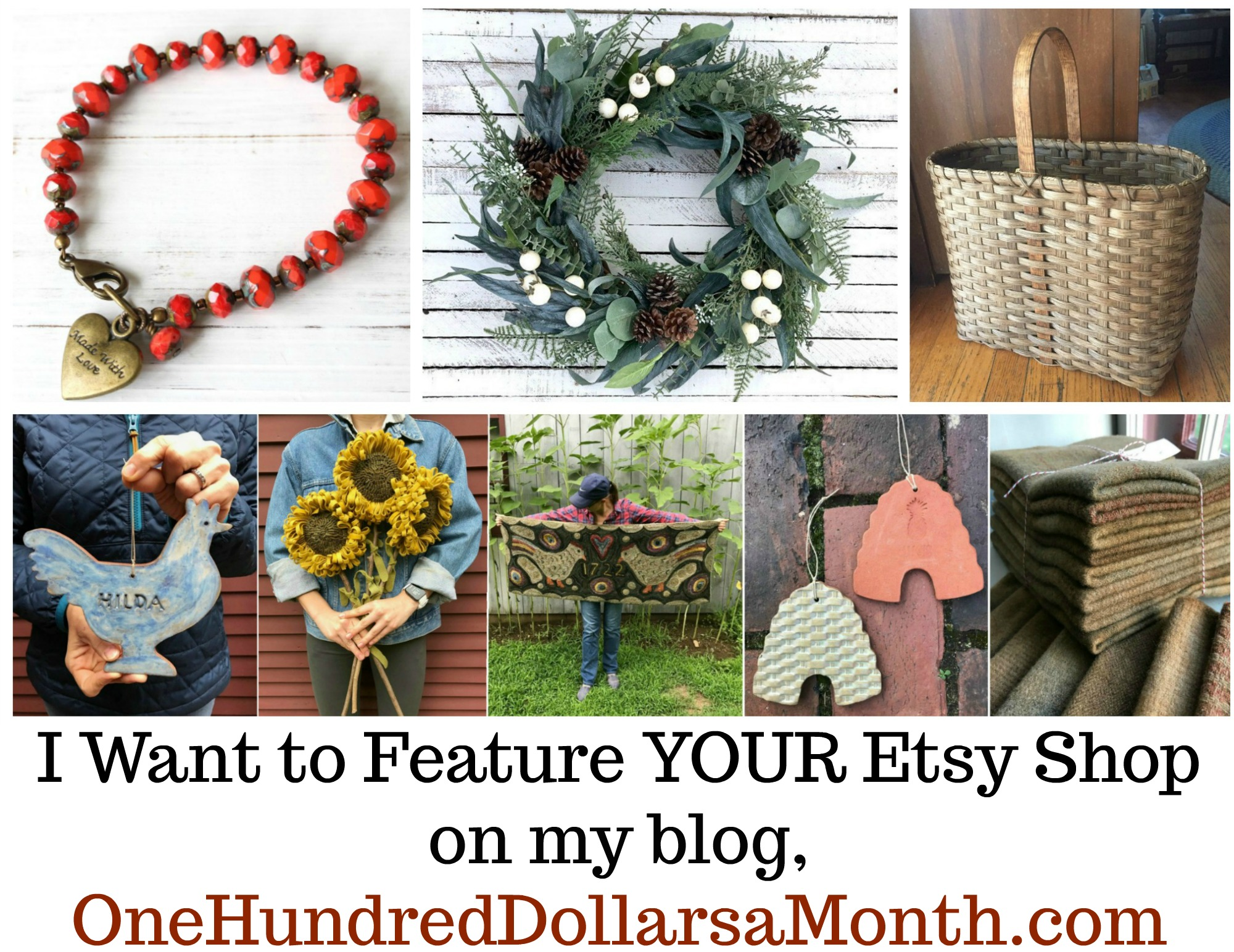 I Want to Feature YOUR Etsy Shop
