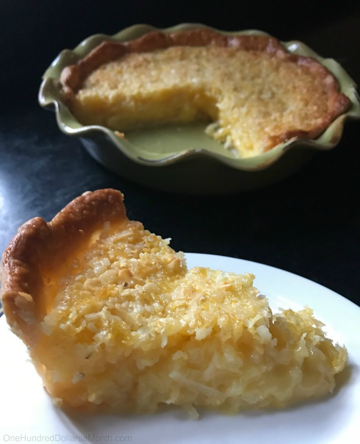 Easter Dessert Recipe: Pineapple Buttermilk Pie