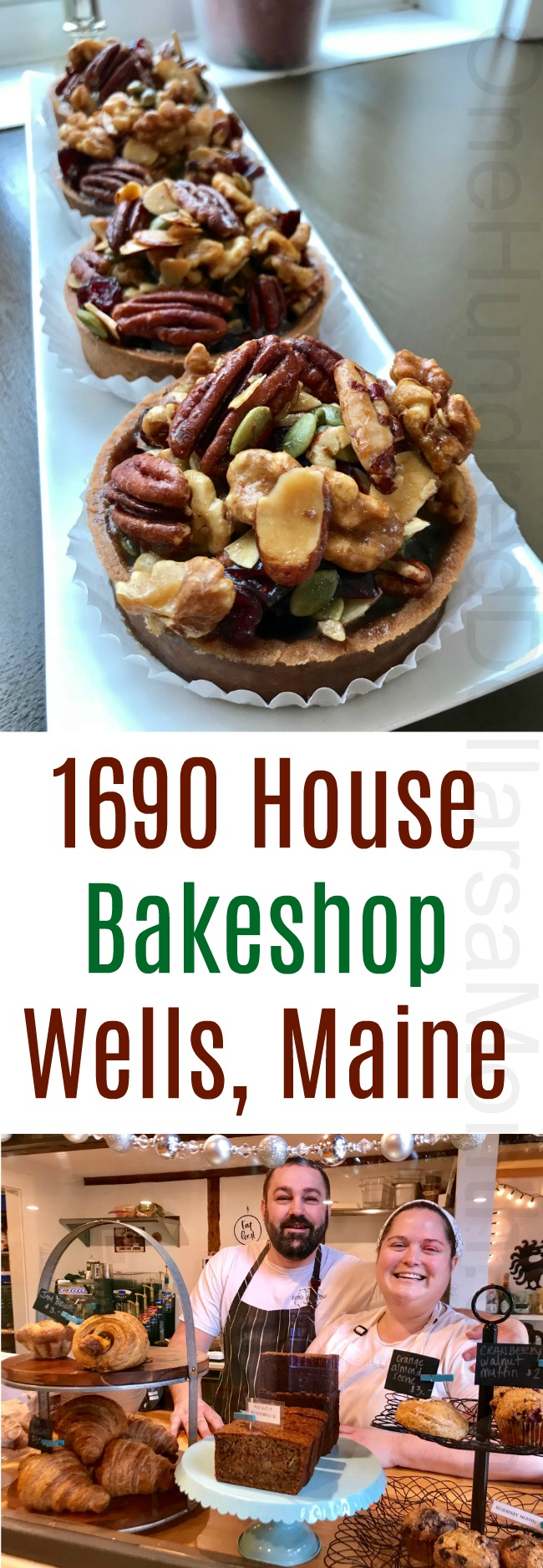 1690 House Bakeshop + Cafe in Wells, Maine
