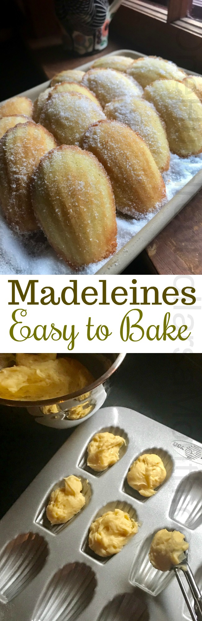 Recipe for Madeleines