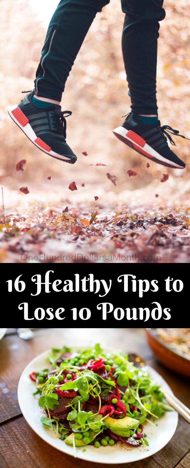16 Healthy Tips to Lose 10 Pounds