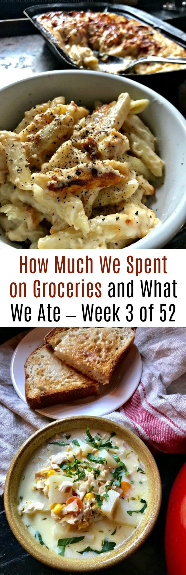 How Much We Spent on Groceries and What We Ate – Week 3 of 52
