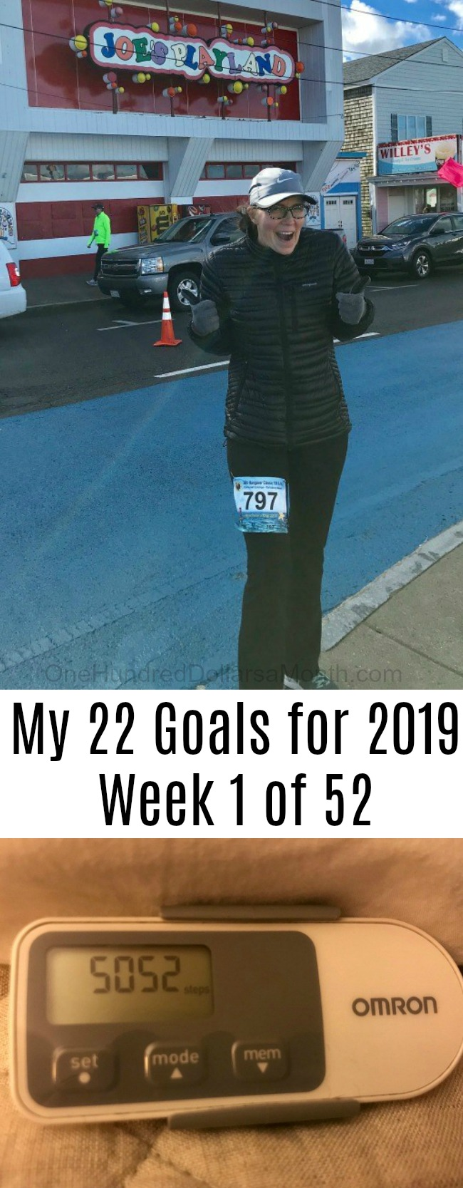 My 22 Goals for 2019 – Week 1 of 52