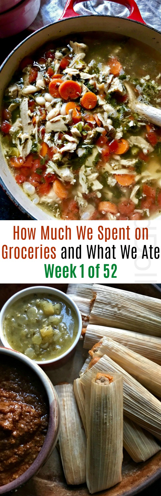 How Much We Spent on Groceries and What We Ate – Week 1 of 52