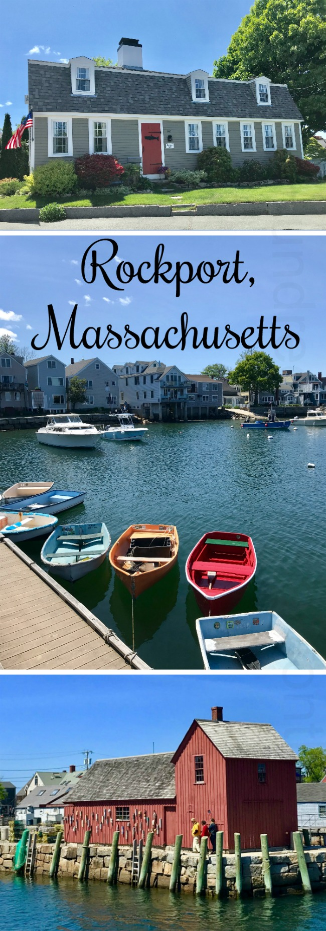 The Coastal New England Town of Rockport, Massachusetts