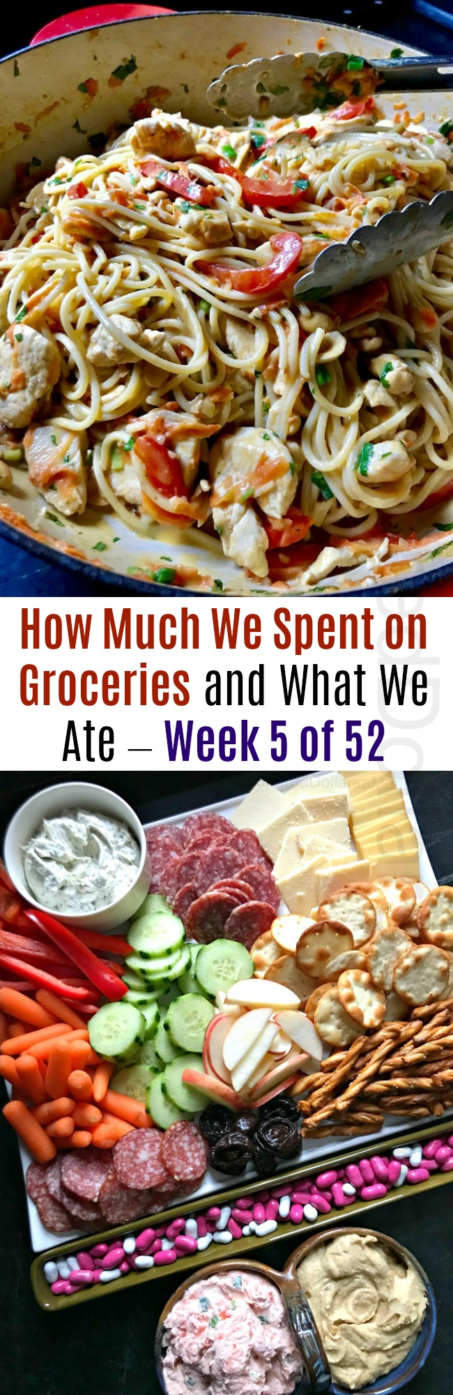 How Much We Spent on Groceries and What We Ate – Week 5 of 52