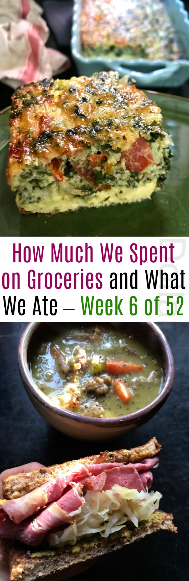 How Much We Spent on Groceries and What We Ate – Week 6 of 52