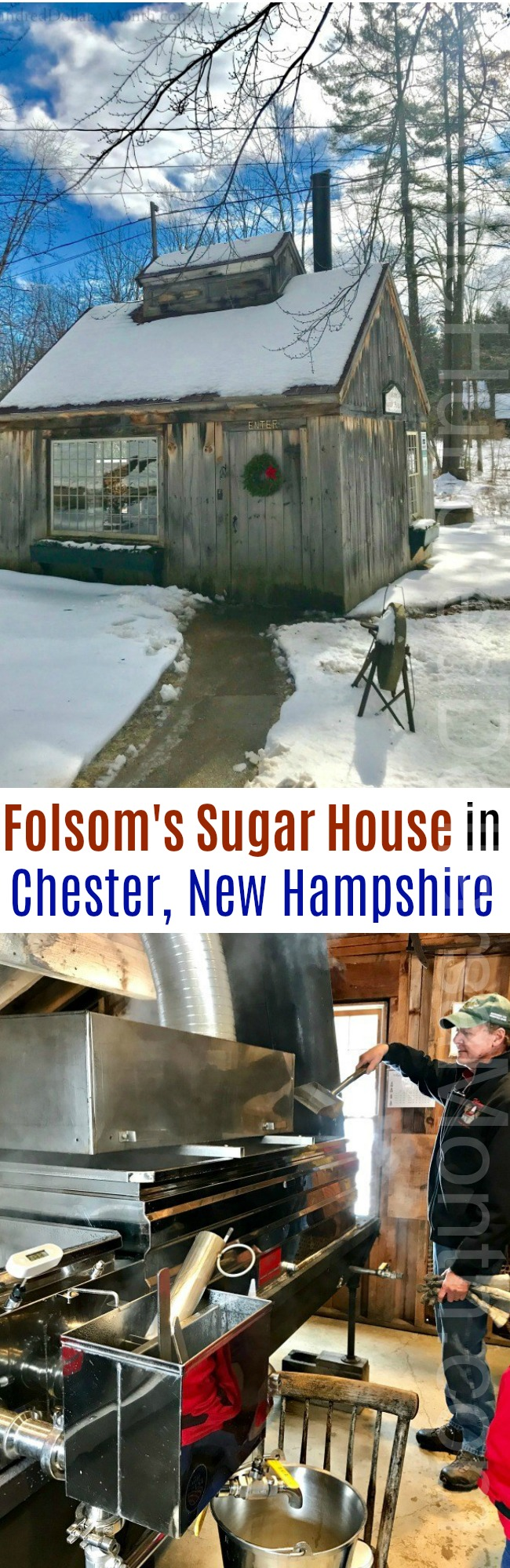 Folsom's Sugar House in Chester, NH