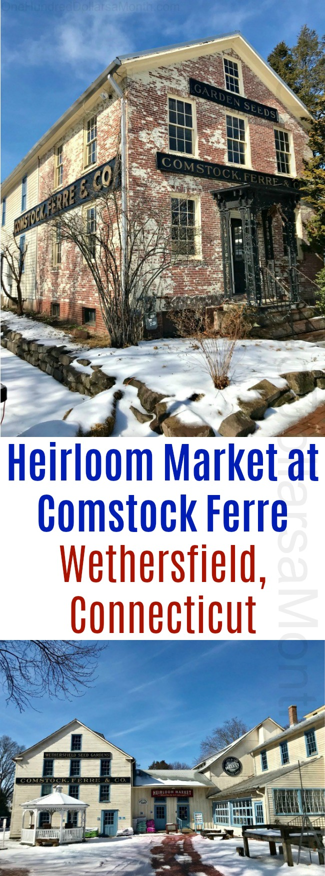 Heirloom Market at Comstock Ferre in Wethersfield, Connecticut