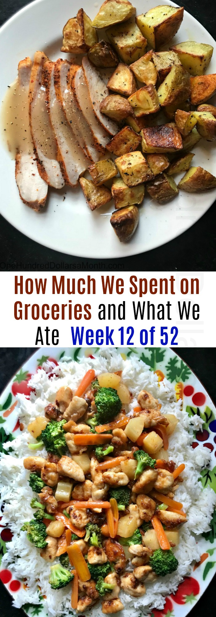 How Much We Spent on Groceries and What We Ate – Week 12 of 52