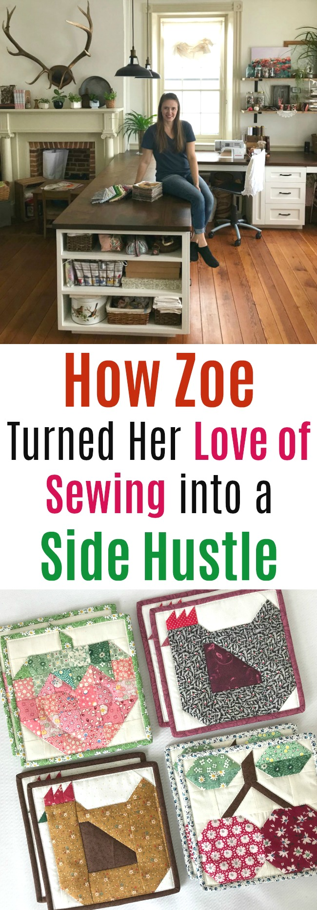 How Zoe from Lancaster, Pennsylvania Turned Her Love of Sewing into a Side Hustle