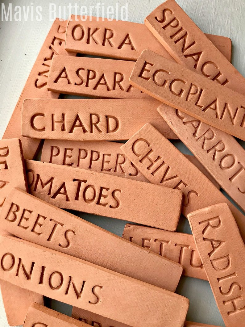 Giveaway: Botanical Interests Seeds and Terra Cotta Garden Markers