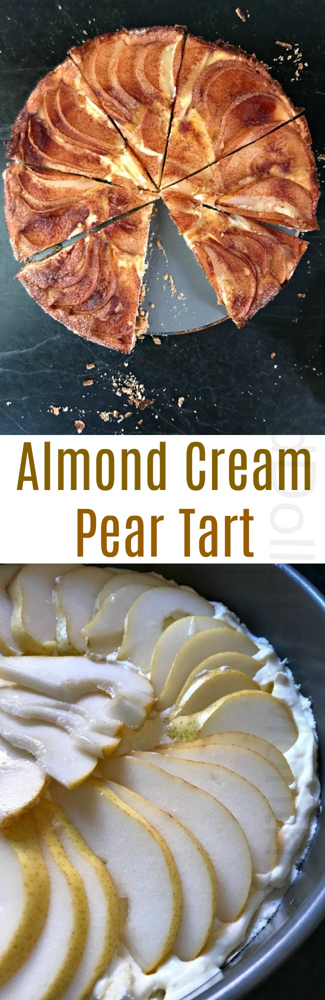 Zoe's Almond Cream Pear Tart