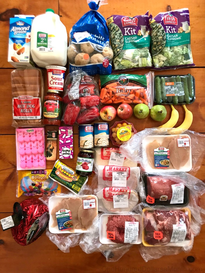 How Much We Spent on Groceries and What We Ate – Week 13 of 52