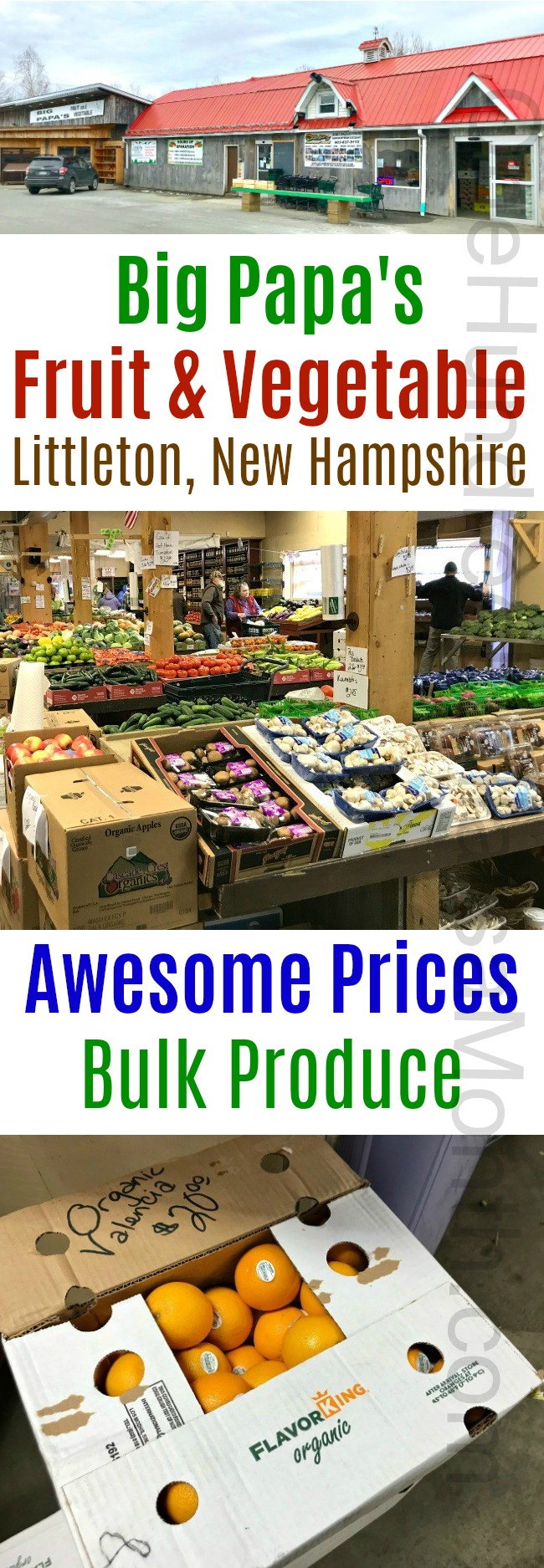 Big Papa's Fruit & Vegetable – Littleton, New Hampshire