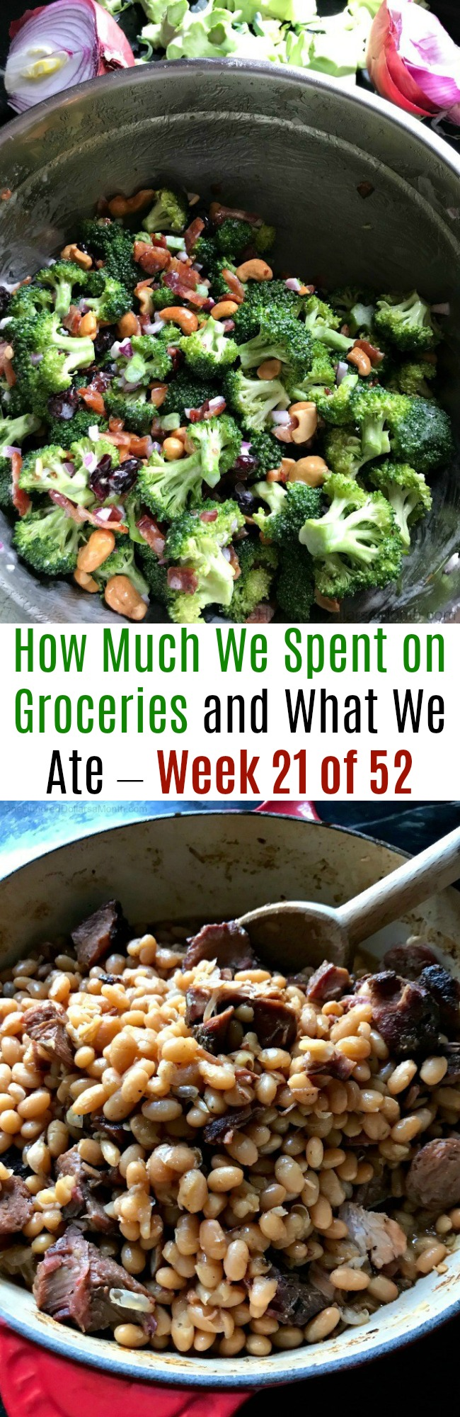How Much We Spent on Groceries and What We Ate – Week 21 of 52