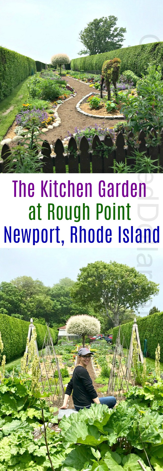 The Kitchen Garden at Rough Point ~ Newport, Rhode Island