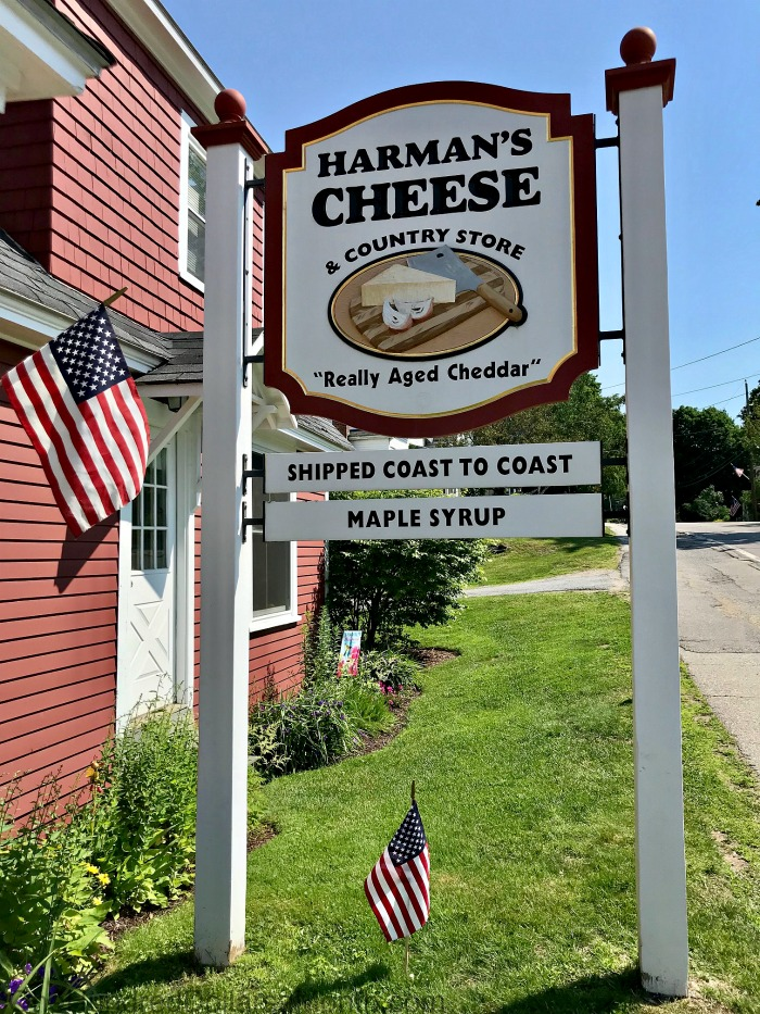 Harman's Cheese & Country Store in Sugar Hill, New Hampshire