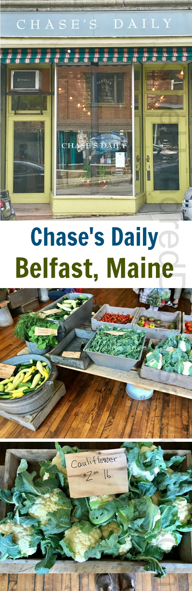 Chase's Daily in Belfast, Maine