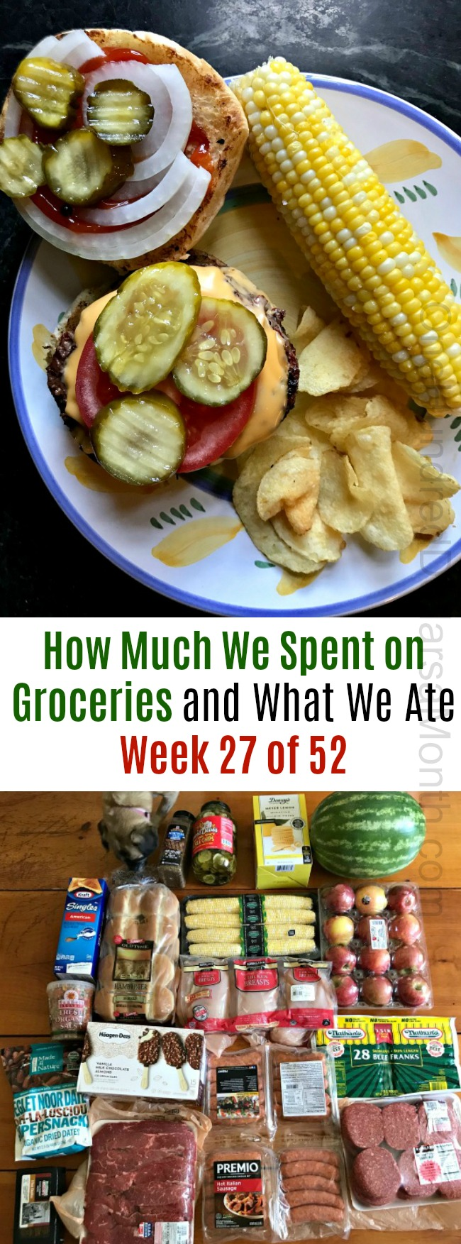 How Much We Spent on Groceries and What We Ate – Week 27 of 52