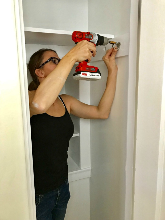 Project #2 – Hall Closet Makeover