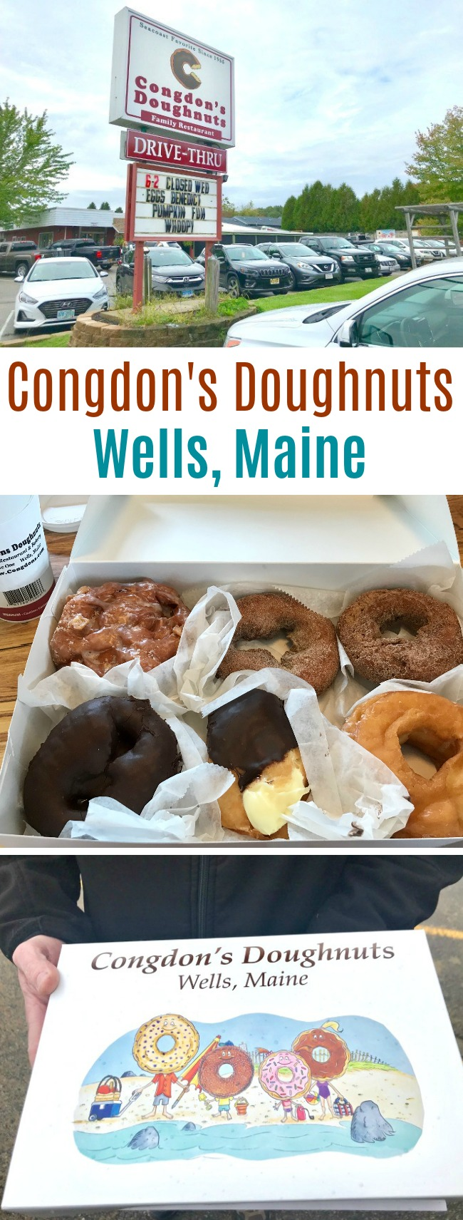 Congdon's Doughnuts – Wells, Maine