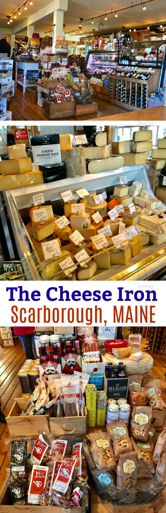 The Cheese Iron – Scarborough, Maine