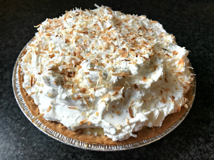 Zoe's Old Fashioned Coconut Cream Pie Recipe