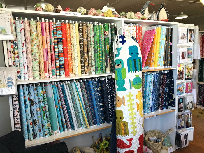 Alewives Fabrics in Damariscotta Mills, Maine