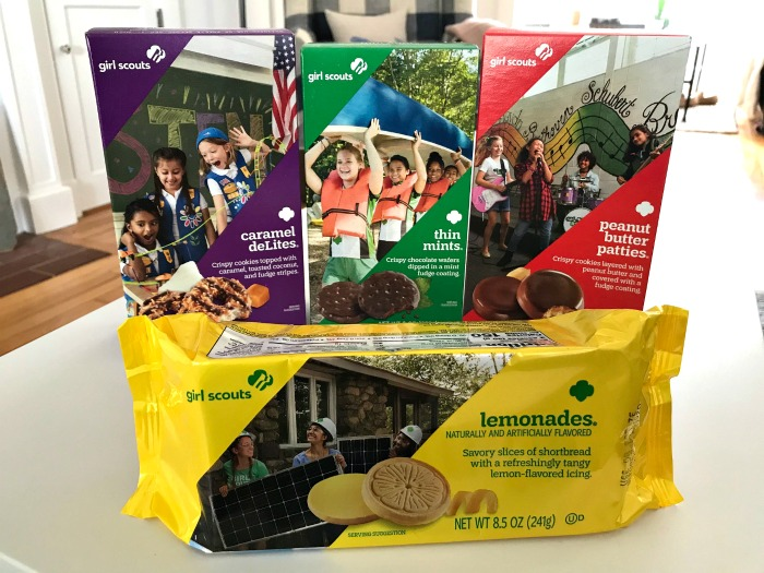 Giveaway – Enter to Win 4 Boxes of Girl Scout Cookies From Mavis